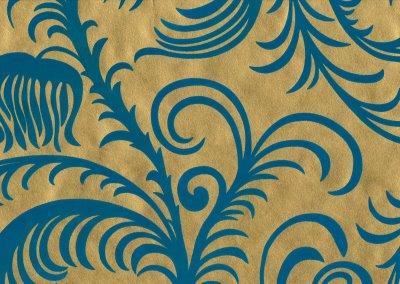 teal and gold wallpaper   Modern Blues   Pinterest   Teal wallpaper, Gold wallpaper and Teal
