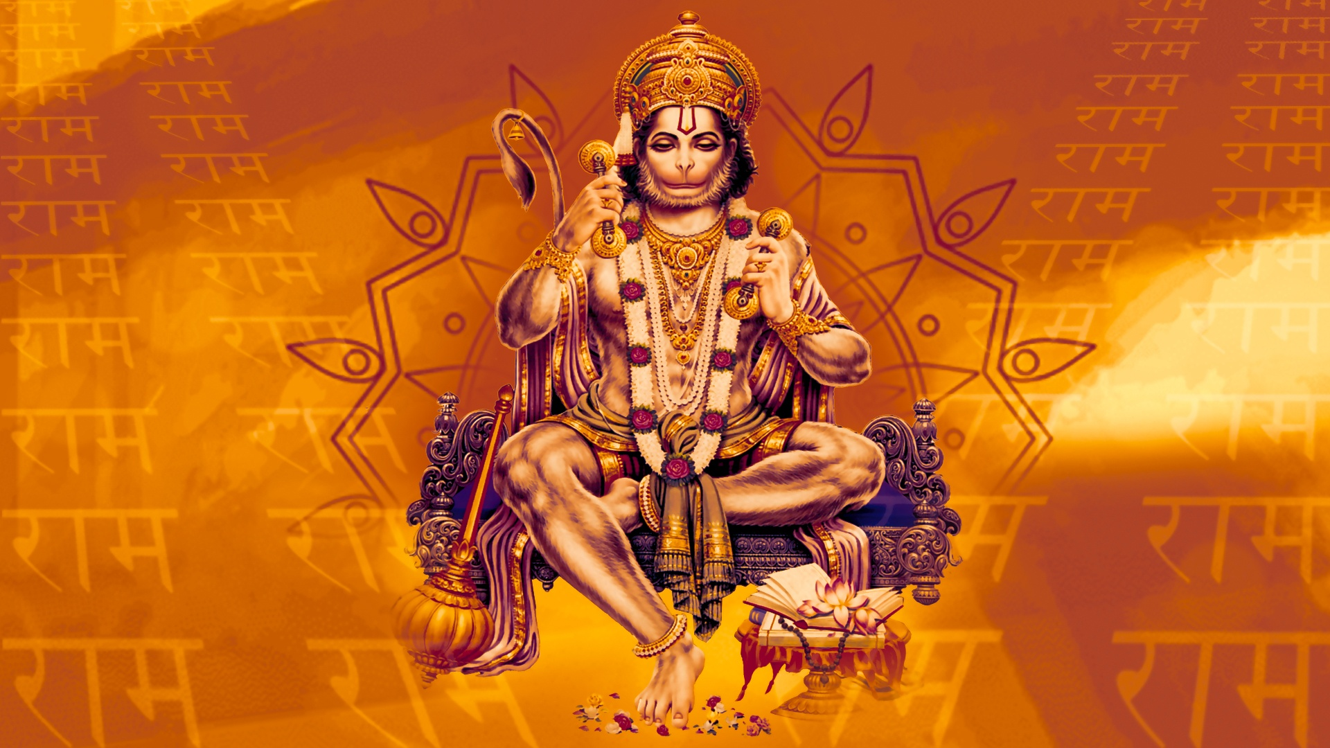 Lord Ganesha 3d Wallpapers Free Download Ram Bhakt Hanumanji Wallpaper Other Wallpaper Better