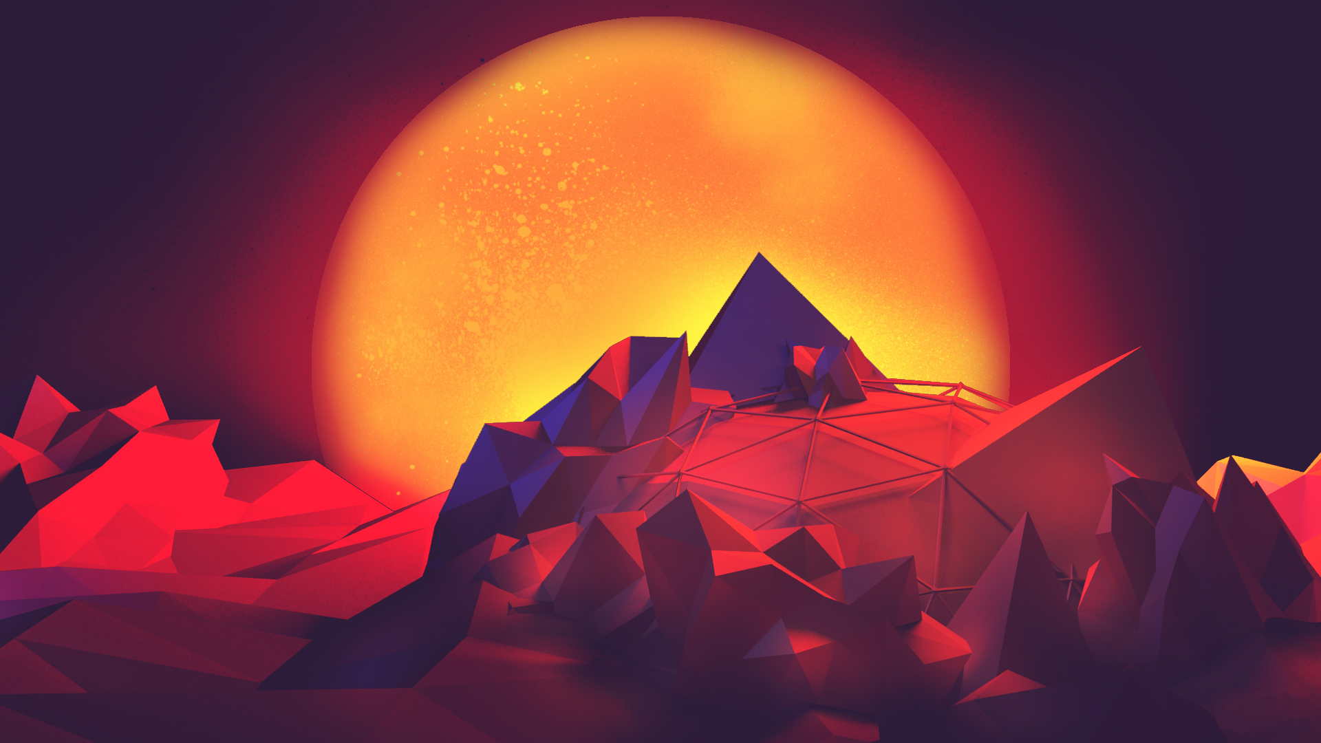 Download Cute Wallpapers For Pc Abstract Polygon Art Hd Wallpaper Art And Paintings
