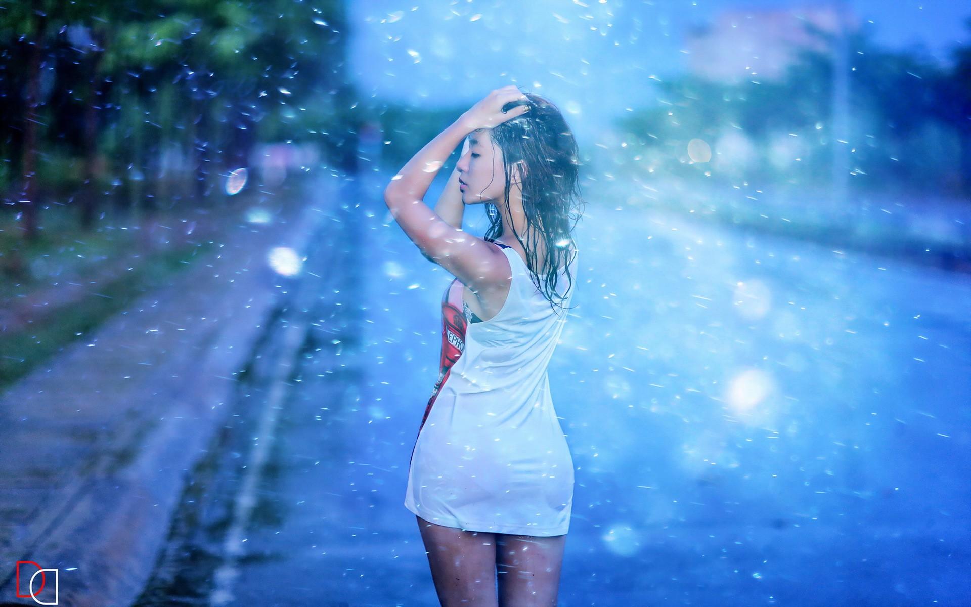 Girl Face Wallpaper 5k Girl On Rain Wallpaper Other Wallpaper Better