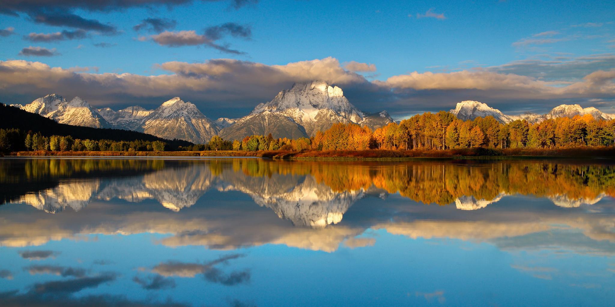 Windows 10 Fall Usa Wallpapers 4k Grand Teton National Park United States Wyoming