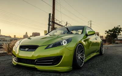 Stanced Hyundai Genesis Coupe wallpaper | cars | Wallpaper Better