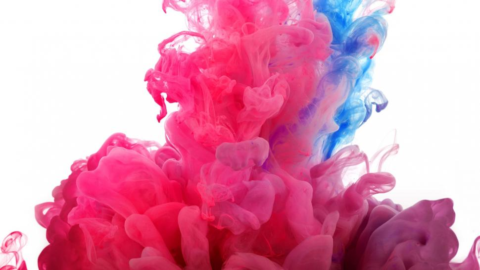 Moving Wallpaper Hd 1080p 3d Blue And Pink Smoke Wallpaper Holidays Wallpaper Better