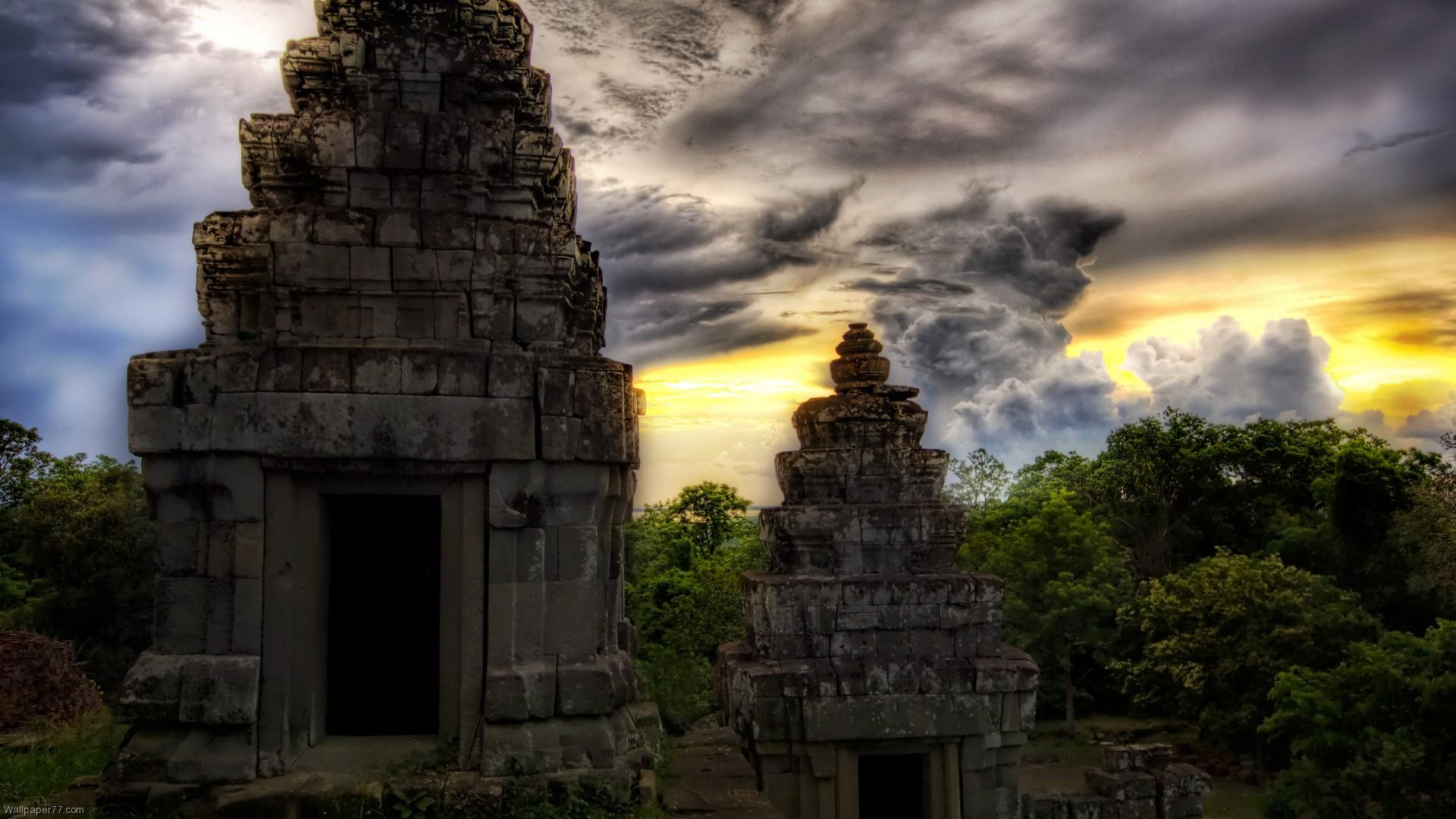 Cute Japanese Art 4k Wallpaper Ancient Asian Temples Hdr Wallpaper Nature And Landscape