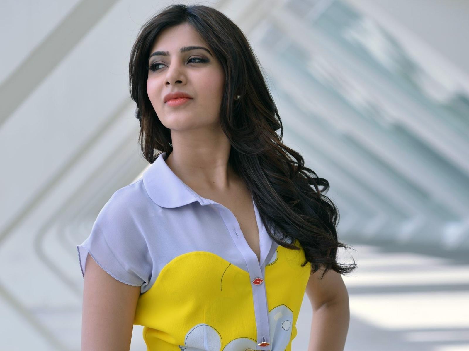 Samantha Ruth Prabhu 3d Wallpaper Samantha Indian Actress Wallpaper Celebrities