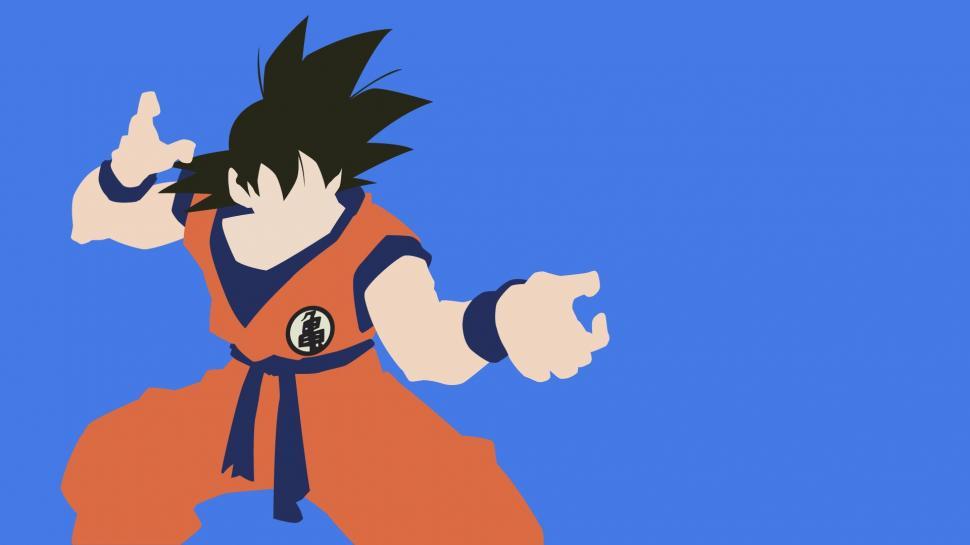 Super Saiyan Live Wallpaper Iphone X Dragon Ball Z Super Saiyan Minimalism Wallpaper Anime