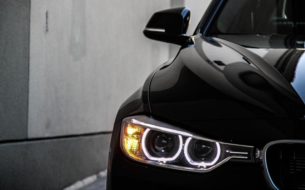 Hd 3d Wallpapers 1080p Free Download For Mobile 2013 Bmw 328i Black Car Angel Eyes Wallpaper Cars