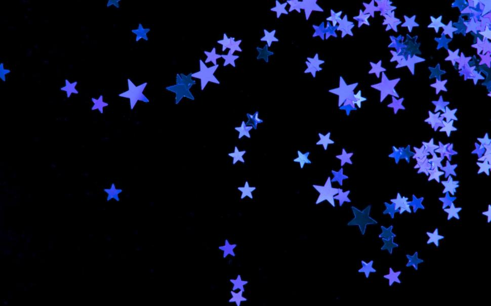 Black And Blue Star Background wallpaper 3d and abstract