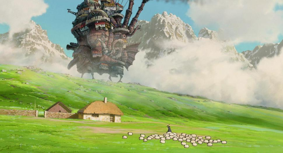 Howls Moving Castle Hd Wallpaper Hayao Miyazaki Studio Ghibli Anime Howl S Moving Castle