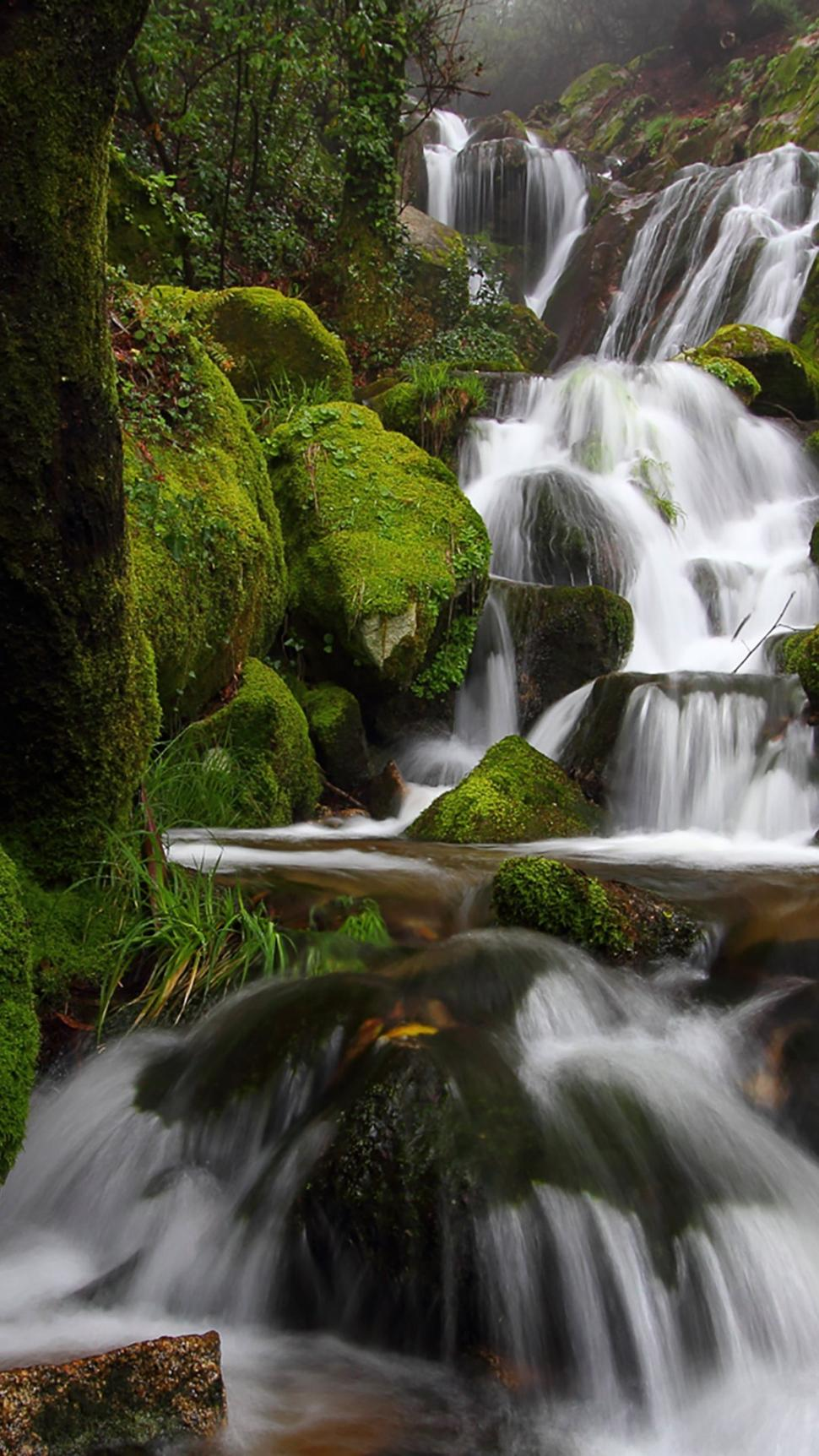 Download 3d Moving Wallpaper For Mobile Waterfall Photography Nature Cellphone Water Wallpaper
