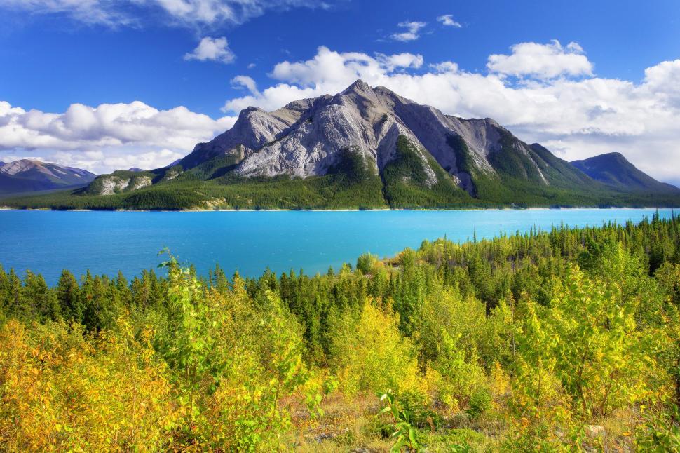 Beautiful Fall Location Wallpapers Abraham Lake Canada Alberta Wallpaper Nature And