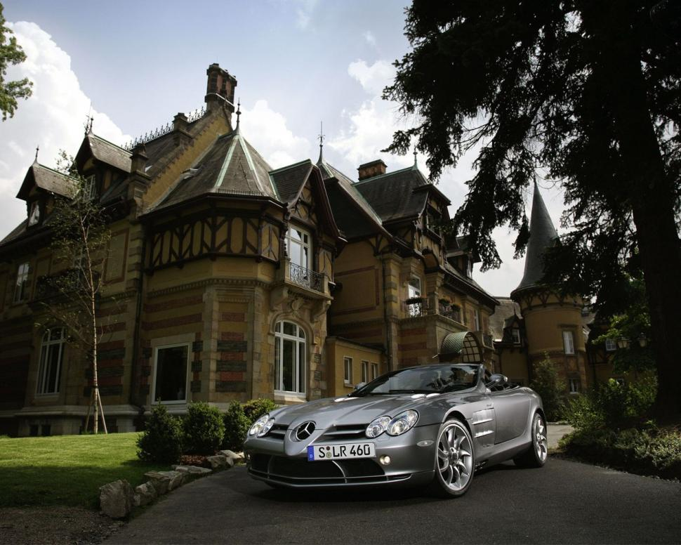 Wallpaper Hd 1080p Free Download For Mobile Mercedes Slr Mclaren Mansion House Hd Wallpaper Cars