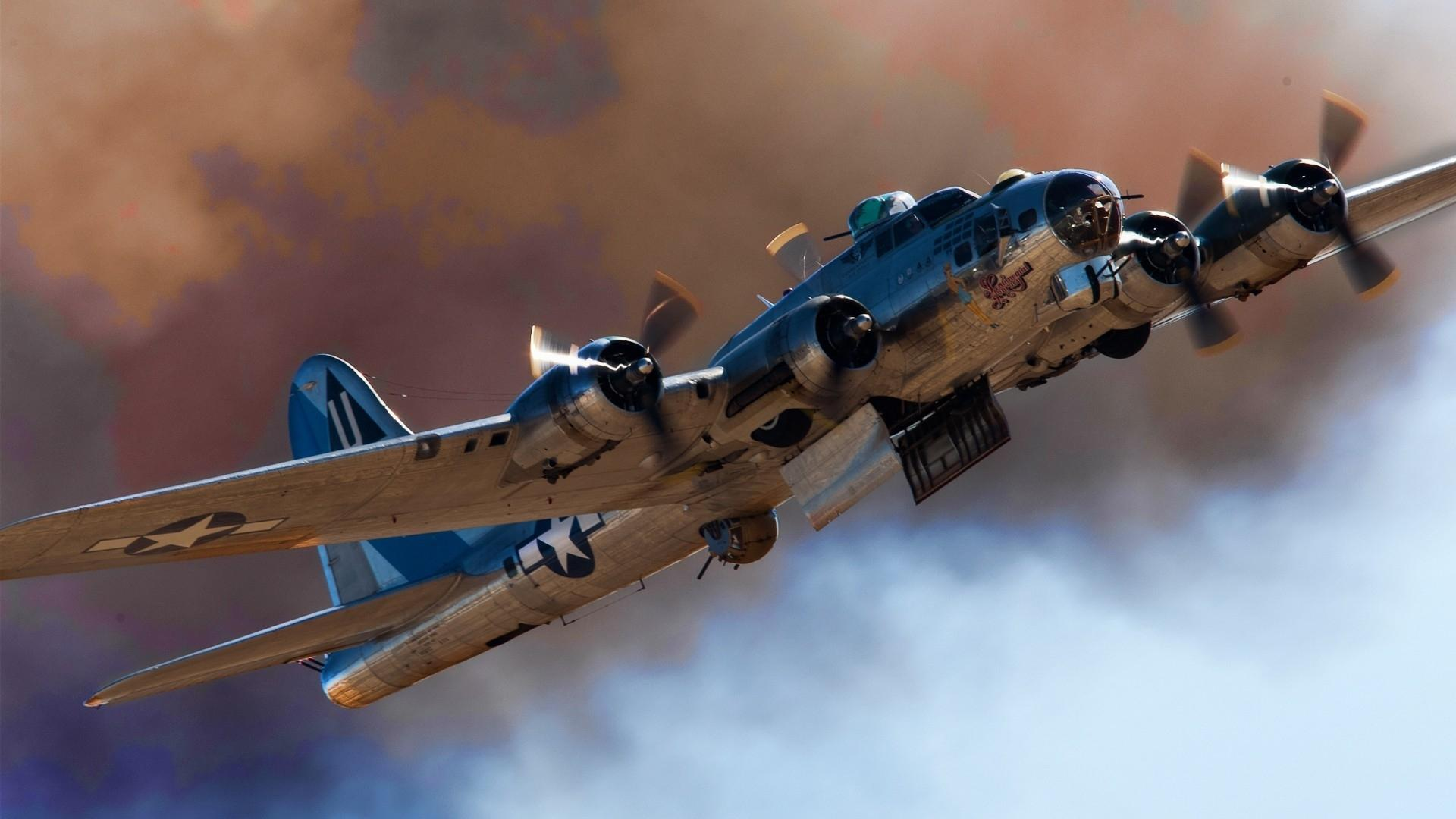 Space Journey 3d Wallpaper Beautiful B17 Flying Fortress Wallpaper Nature And