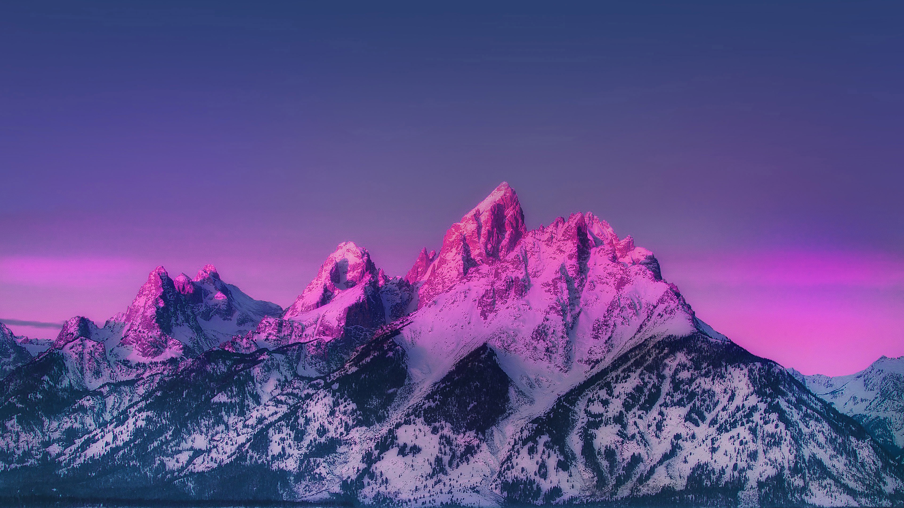 Pepe The Frog Cute Wallpaper Pink Snowed Mountains Wallpaper Nature And Landscape