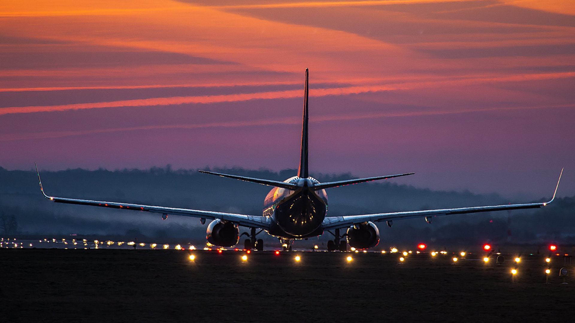Cute Wallpaper For Home Screen Airbus Airplane Aviation Airport Airbus Evening