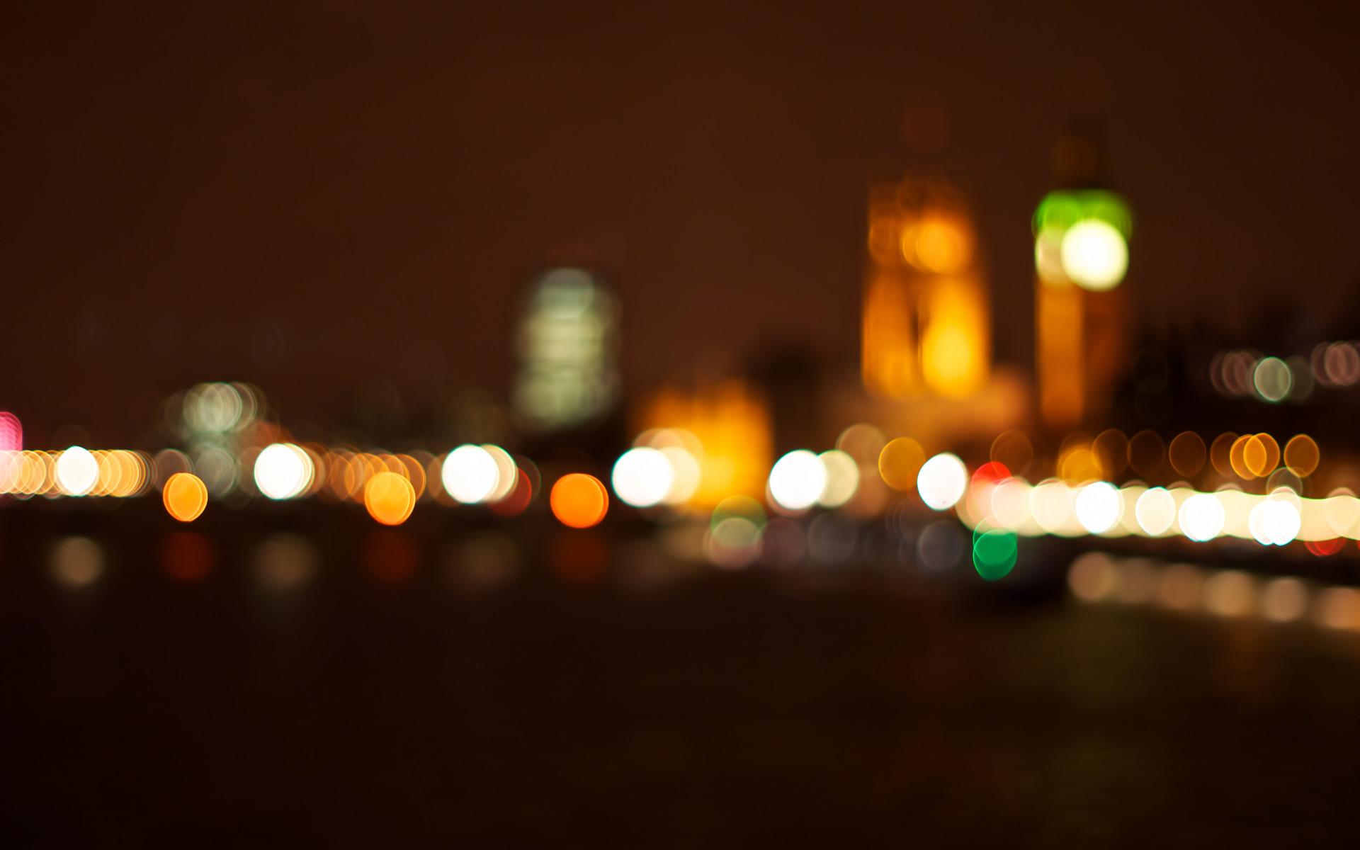 3d Masjid Wallpapers Beautiful City Lights Night Blur Wallpaper Travel