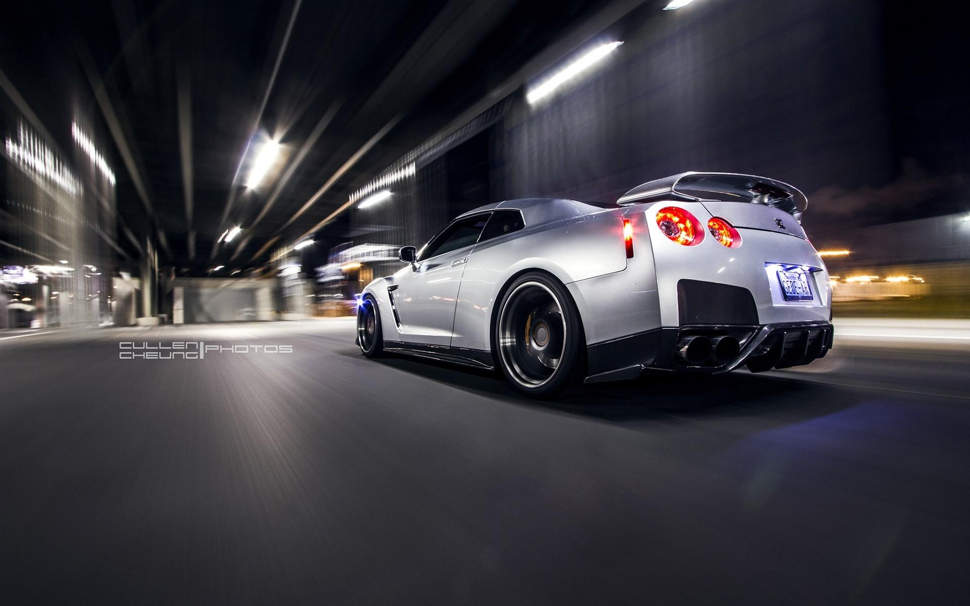Fast And Furious Cars Wallpapers For Desktop Night Nissan Gt R R35 Car Wallpaper Nature And Landscape