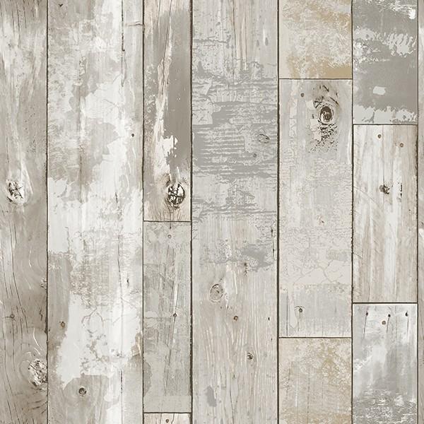 Buy 3d Wallpaper Panels 2540 24054 Deena Grey Distressed Wood Wallpaper