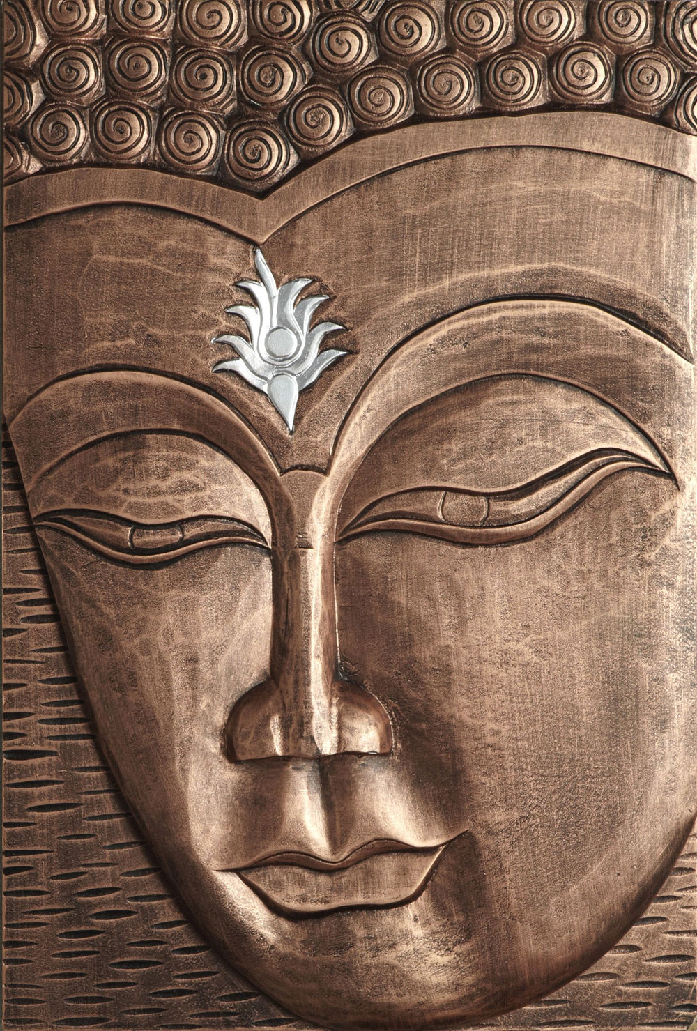 3d Room Wallpaper Enlightened Buddha Copper By Arthouse Wallpaper Direct
