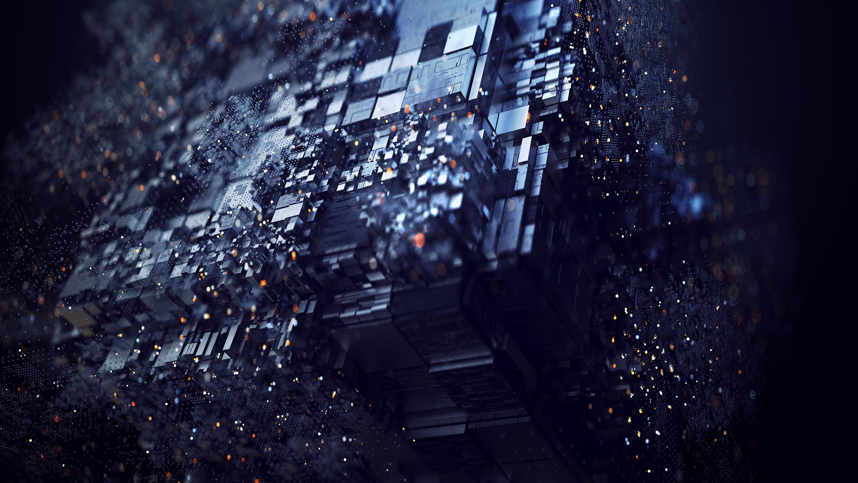 Iphone 2g Wallpaper Abstract 3d Digital Art Denis Mitrofanov Hd Wallpaper