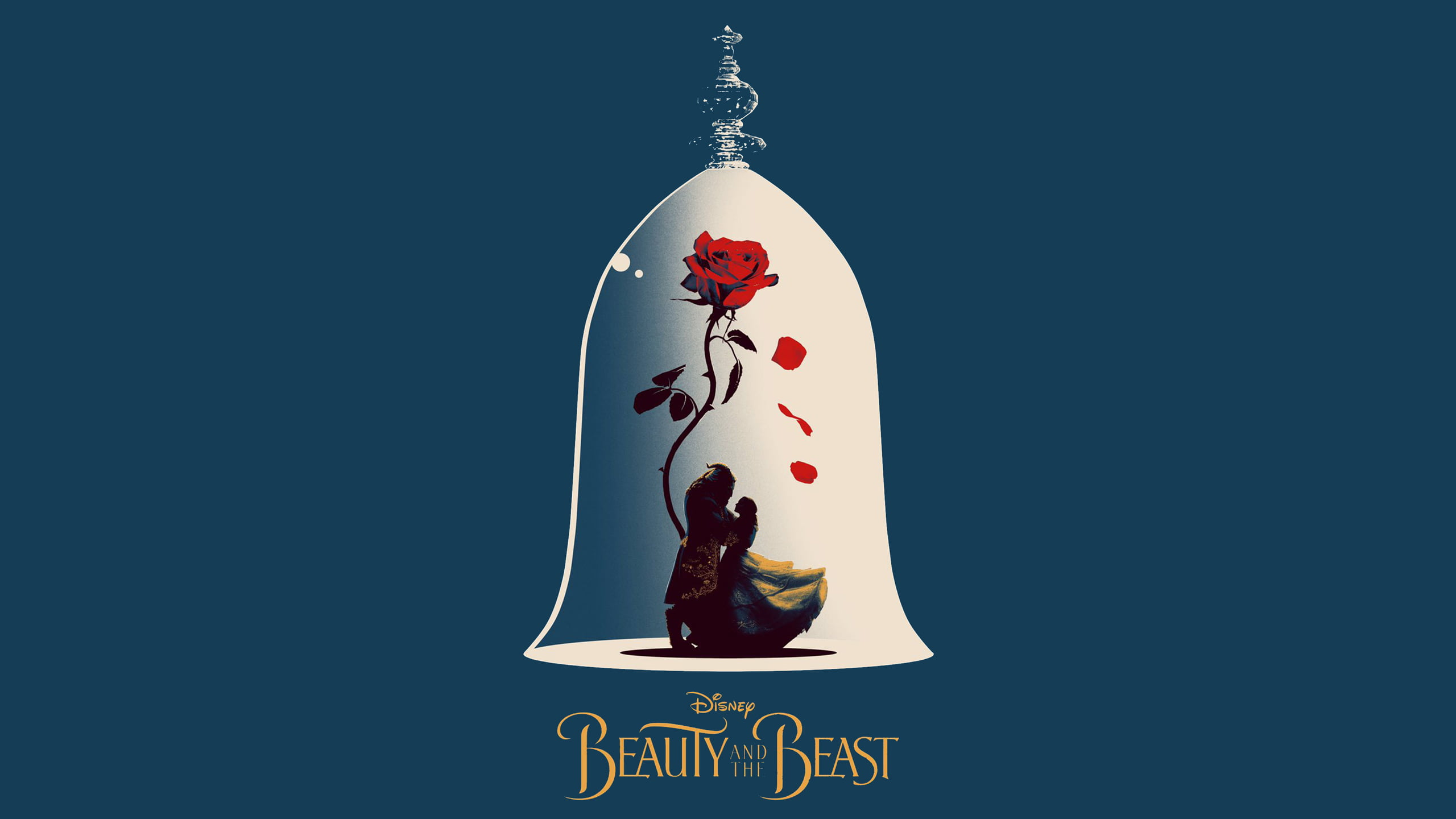 Quotes Wallpaper For Iphone 5c Disney Beauty And The Beast Poster Hd Wallpaper