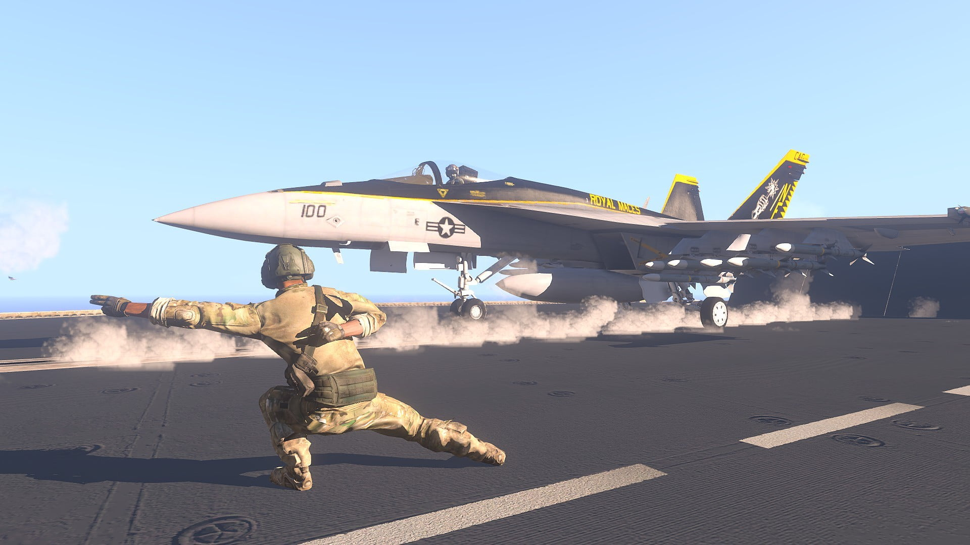 Iphone 2g Wallpaper Men S Brown Military Suit Fa 18 Hornet Arma 3 Aircraft