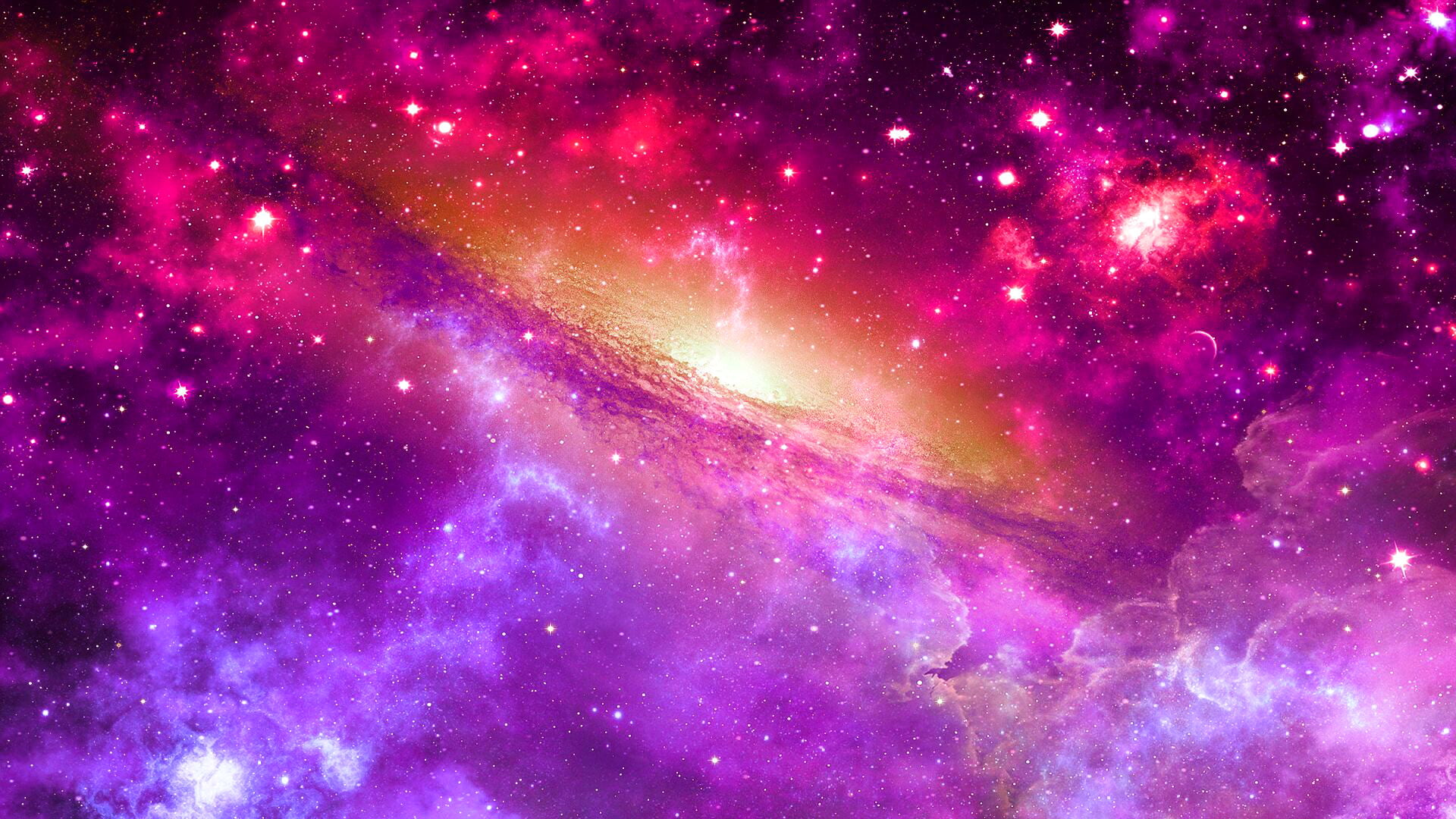 Iphone 2g Wallpaper For Iphone X Purple And Pink Galaxy Hd Wallpaper Wallpaper Flare