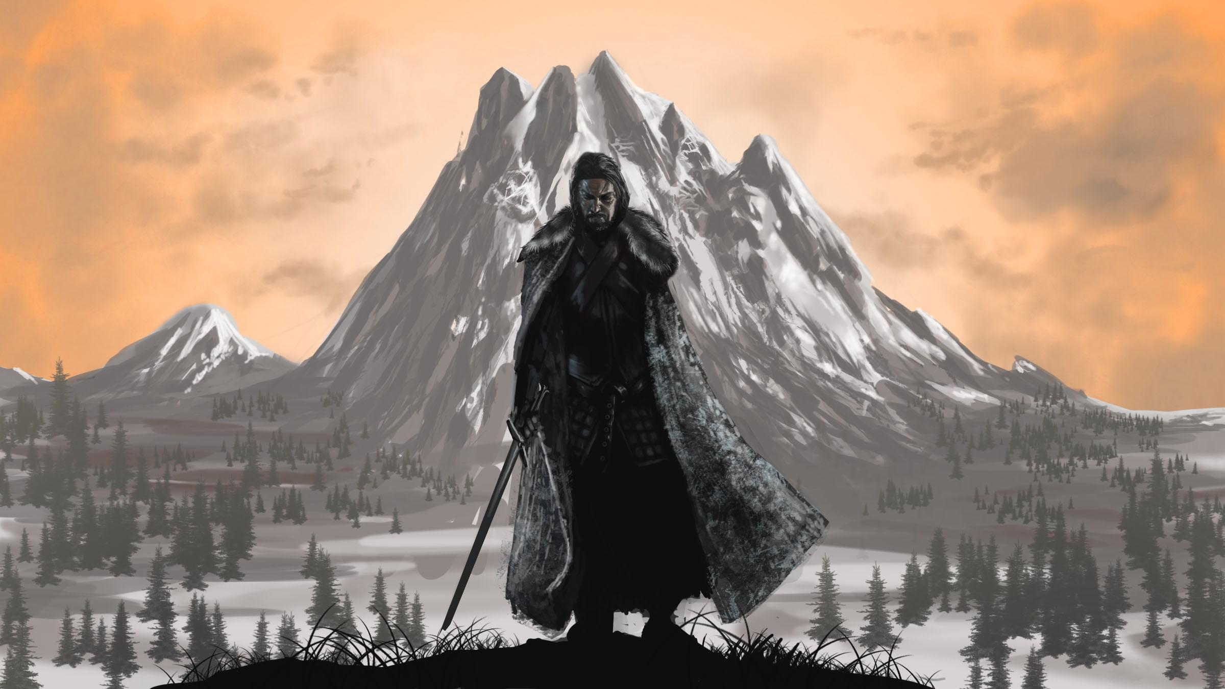Game Of Thrones Iphone Wallpaper Hd Game Of Thrones Jon Snow Painting Game Of Thrones Benjen