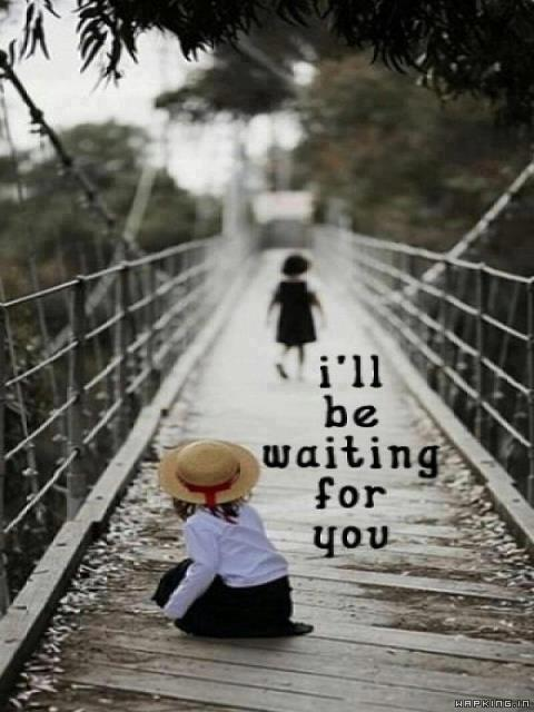 Cute Boy And Girl Wallpaper Download Download Waiting For U Love And Tears For Your Mobile