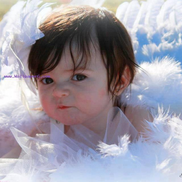 Sweet Cute Wallpapers 240x320 Download Pari Angel In Hey Baby Cute Baby For Your