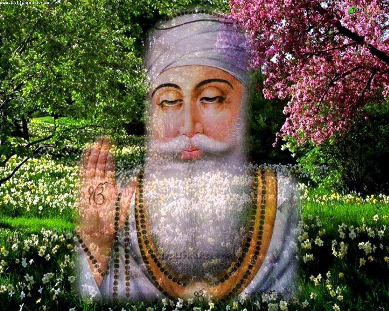 Sweet Cute Wallpapers 240x320 Download Guru Nanak Ji Spiritual Wallpaper For Your
