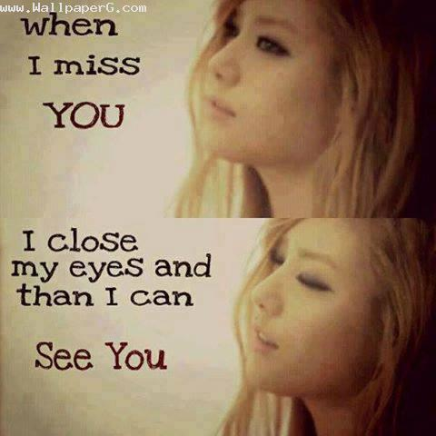 Sad Alone Girl Hd Wallpaper Download Download When I Miss You I Close My Eyes Innocent Girl