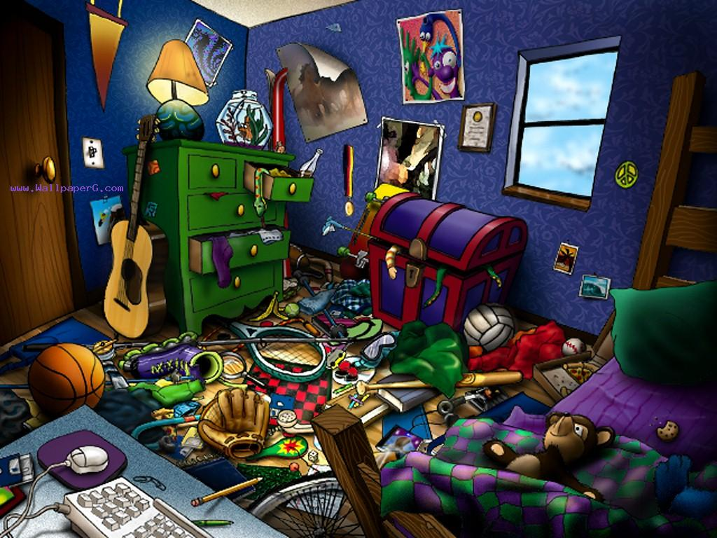 Cute Anime Boy Girl Phone Wallpaper Download Messy Room Wallpaper Hd Abstract Wallpapers For