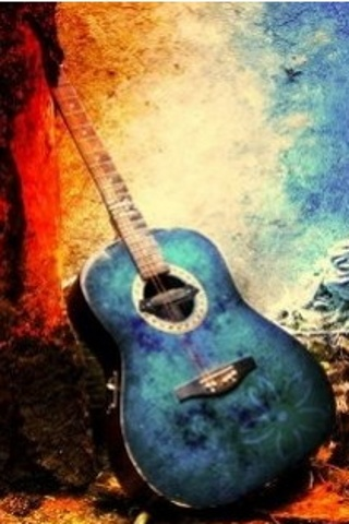 Anime Beautiful Girl Wallpaper Download Guitar Abstract Iphone Wallpaper For Your