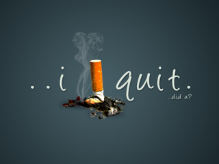 Smoking Attitude Girl Wallpaper Download I Quit Smoking Saying Quote Wallpapers For Your