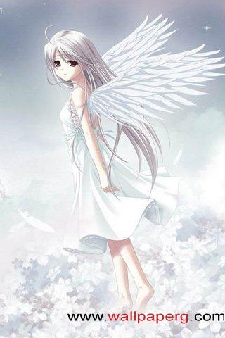 Most Stylish Cars Wallpapers Download Angel Wings Manga Girls For Your Mobile Cell Phone