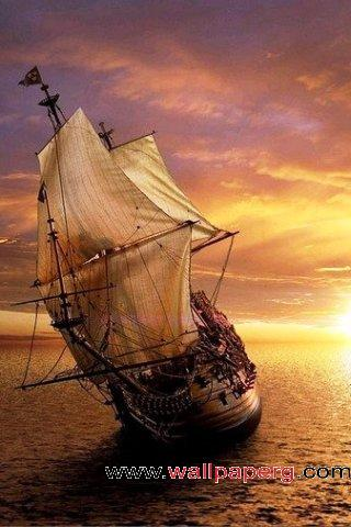 Cute Baby Girl And Boy Wallpapers Download Ocean Sailing Ship 3d Hd Wallpapers For Your