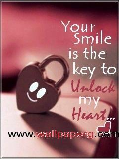 Heart Touching Quote Wallpapers Mobile Download Unlock Heart Heart Touching Love Quote Mobile