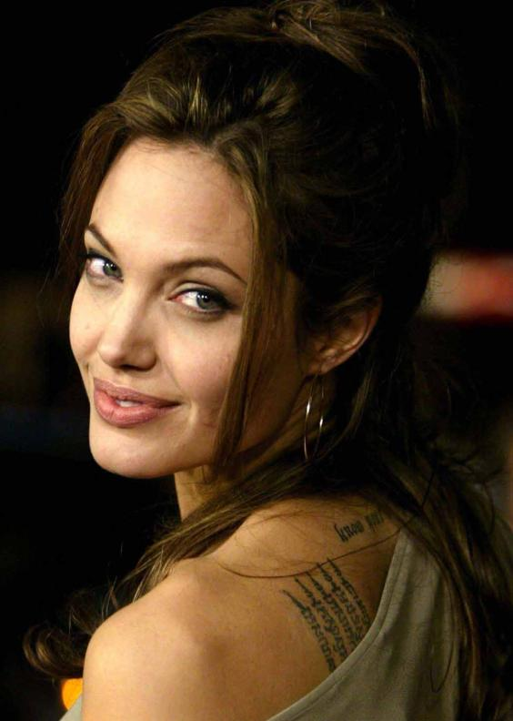 Cute Girl Doll Wallpaper Hd Download Angelina Jolie Tattoo Hollywood Actress Images