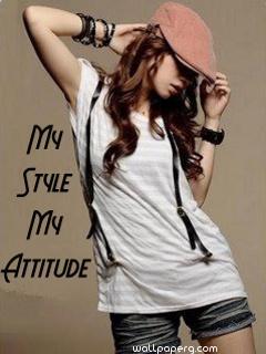 Punjabi Cute Baby Wallpaper Download My Style My Attitude Girl Attitude Girl Profile