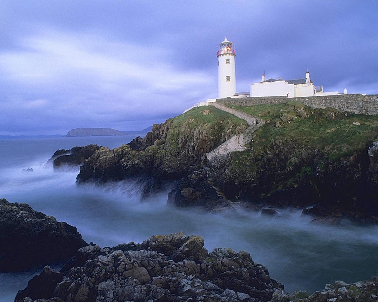 Cute Cat Wallpaper 3d Fanad Head Lighthouse Ireland Wallpaper Free Hd