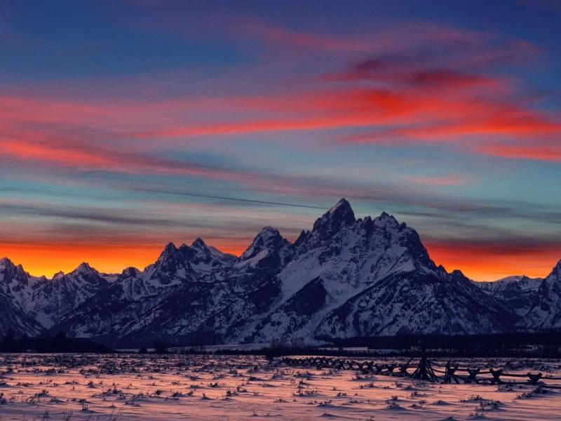 3d Black Jaguar Wallpaper Gorgeous Mountain Range Sunset Wallpaper Free Sunset