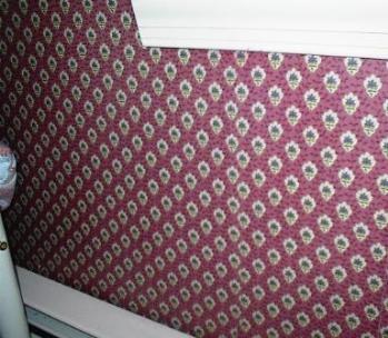 Wallpaper Seam Repair by Rebecca Schunck