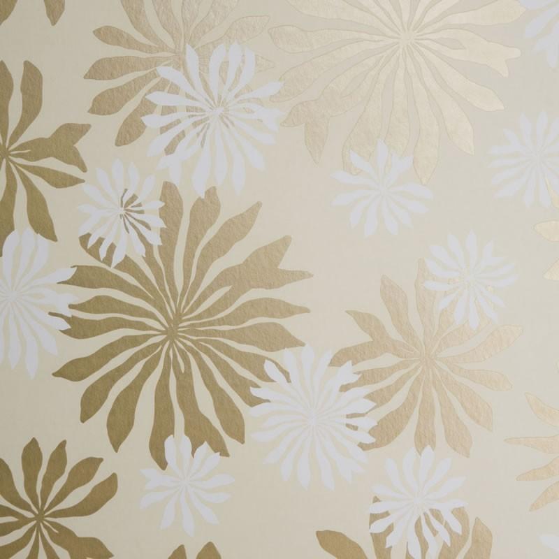 Embossed 3d Wallpaper Uk Missprint Misp1017 Fleur Cream Gold Wallpaper Missprint