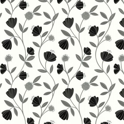 Capri Grey White Wallpaper, Grey Wallpaper, Buy Wallpaper Online