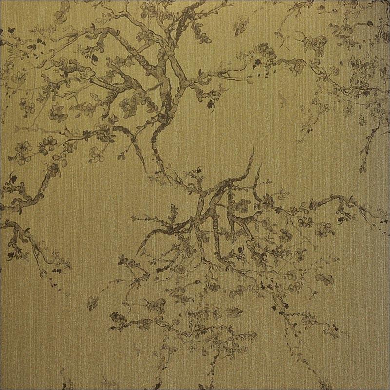 3d Geometric Wallpaper For Walls Kyoto Golden Bronze 20402