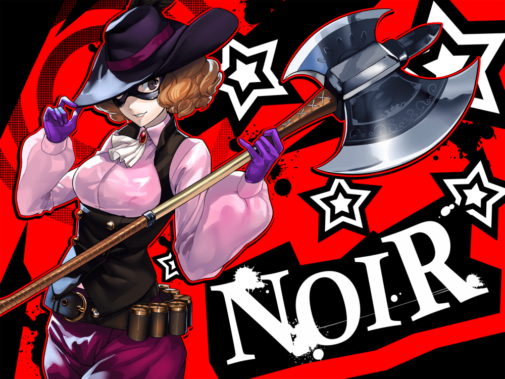Persona 5 Wallpaper Morgana Cute Wallpaper Persona 5 Okumura Haru Noir Mask Axe Hat