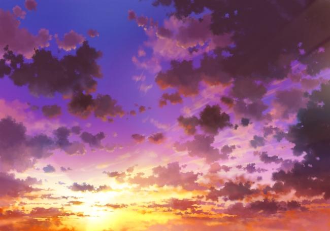 1600x2560 Car Wallpaper Wallpaper Anime Sky Sunset Clouds Wallpapermaiden