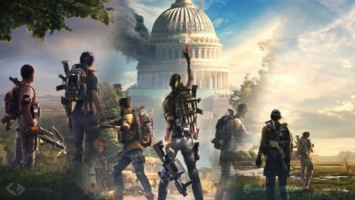Wallpaper Tom Clancy's The Division 2, People, Artwork, Landscape - WallpaperMaiden