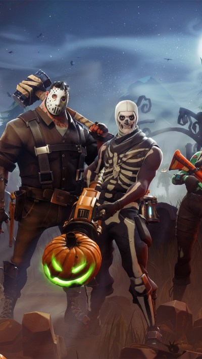 Download 750x1334 Fortnite Cauchemars, Pumpkins, Artwork Wallpapers for iPhone 7, iPhone 6 ...